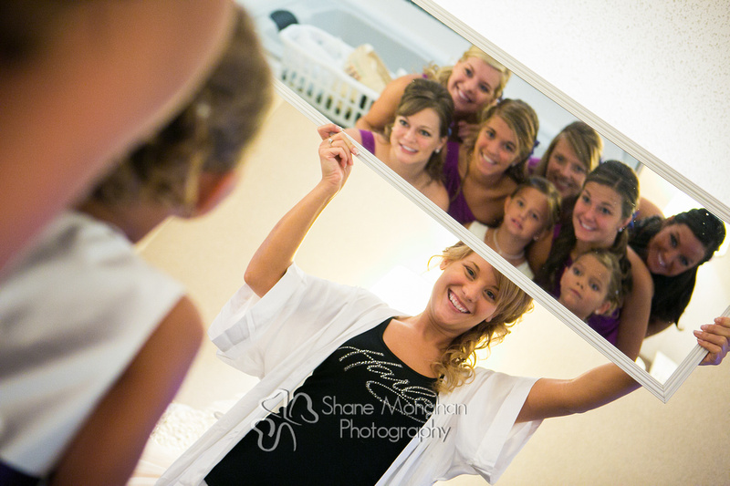 Alyssa and Zach Utech Wedding, brides maids getting ready - Sioux City Photographers - Shane Monahan Photography, Iowa Wedding & Portrait Photographer, Photo Booth Rental, Remsen, IA