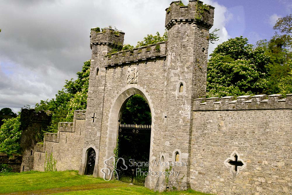 Irish Castle, Slane Castle, Ireland by Shane Monahan Photography - Sioux City, Iowa AFTER picture