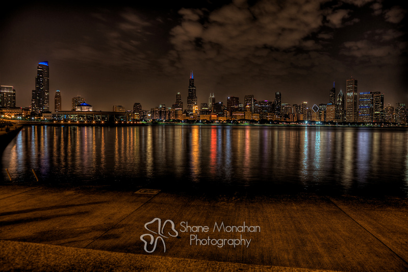 Chicago Skyline - by Sioux City Photographer - Shane Monahan Photography - Iowa Wedding & Portrait Photographer