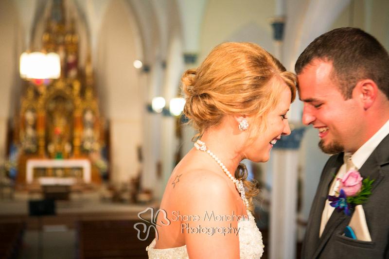 Alyssa and Zach Utech Wedding, first look - Sioux City Photographers - Shane Monahan Photography, Iowa Wedding & Portrait Photographer, Photo Booth Rental, Remsen, IA