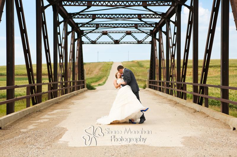 Alyssa and Zach Utech Wedding, wedding dip - Sioux City Photographers - Shane Monahan Photography, Iowa Wedding & Portrait Photographer, Photo Booth Rental, Remsen, IA