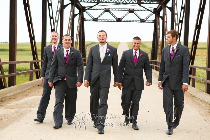 Alyssa and Zach Utech Wedding, grooms men - Sioux City Photographers - Shane Monahan Photography, Iowa Wedding & Portrait Photographer, Photo Booth Rental, Remsen, IA