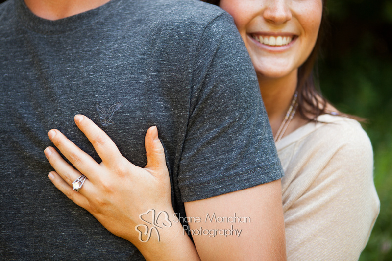Becca and I had an early morning engagement photo session yesterday here in Sioux City.  Holly and Weston are two of the sweetest, most laid back people we