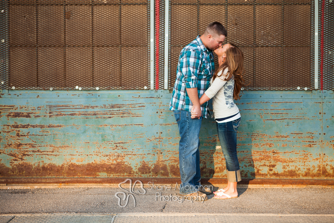 Brandon and Kayla engagement photos - Sioux City Photographers, Shane Monahan Photography - Sioux City, Iowa wedding & Portrait photographer