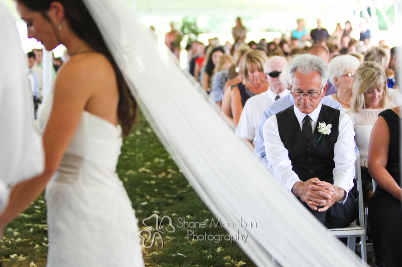Maggie and BJ Wylie Wedding, wedding prayer - Sioux City Photographers - Shane Monahan Photography, Iowa Wedding & Portrait Photographer, Photo Booth Rental