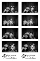Jenica and Brandon's photo booth